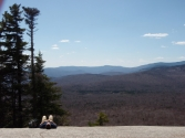 Views Double-Hit-and-Run - Mounts Willard and Pemigewasset - April 28, 2013  | 2013-04-28